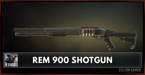 REM 900 Shotgun Stats, Attachments & Skins