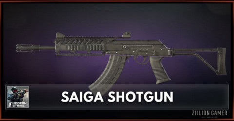 Saiga Shotgun Stats, Attachments & Skins