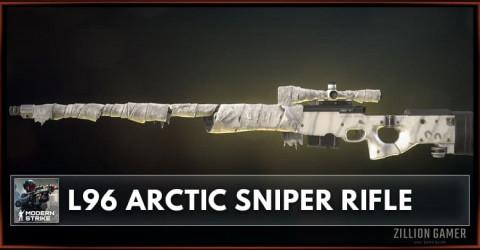 L96 Arctic Sniper Rifle Stats, Attachments & Skins