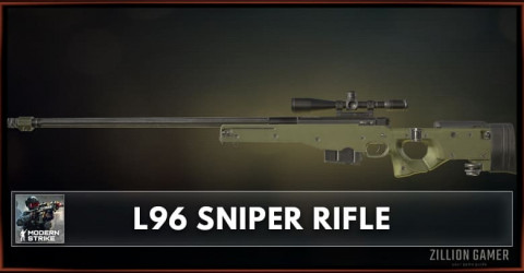 L96 Sniper Rifle Stats, Attachments & Skins