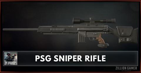 PSG Sniper Rifle Stats, Attachments & Skins