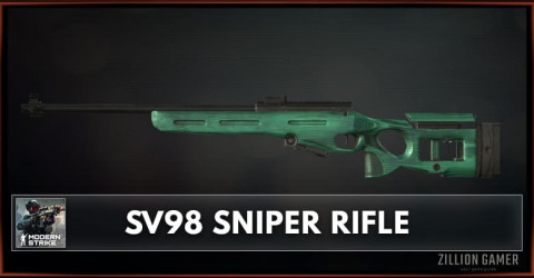 SV98 Sniper Rifle Stats, Attachments & Skins
