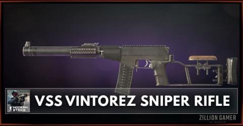 VSS Vintorez Sniper Rifle Stats, Attachments & Skins