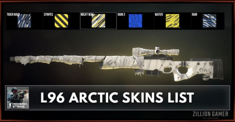 Modern Strike Online L96 Arctic Skins List