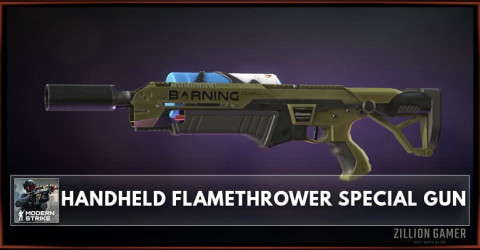 Hand-Held Flamethrower Special Gun Stats, Attachments & Skins
