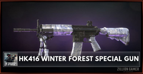 HK416 Winter Forest Special Gun Stats, Attachments & Skins