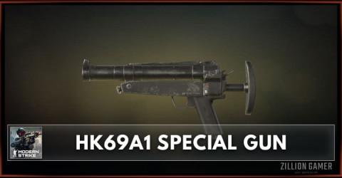 HK69A1 Special Gun Stats, Attachments & Skins