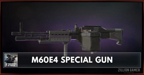 M60E4 Special Gun Stats, Attachments & Skins
