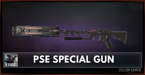 PSE Special Gun Stats, Attachments & Skins