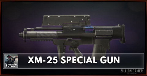 XM-25 Special Gun Stats, Attachments & Skins
