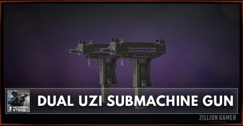 Dual UZI Submachine Gun Stats, Attachments & Skins