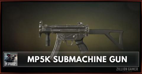 MP5K Submachine Gun Stats, Attachments & Skins