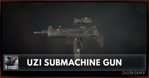 UZI Submachine Gun Stats, Attachments & Skins