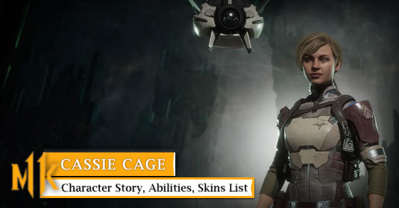 Mortal Kombat 11 Cassie Cage Character Story Abilities