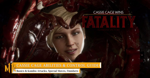 Cassie Cage Character Abilities & Control Guide