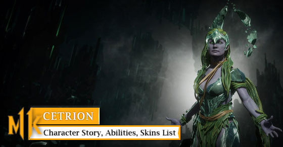 Mortal Kombat 11: Cetrion Character Story, Abilities