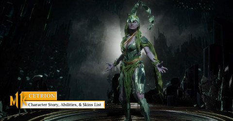 Cetrion Character Story, Abilities, & Skins List