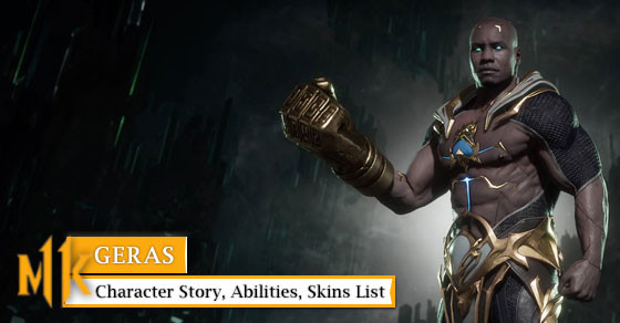 Get to know Geras with her story, abilities, & skins