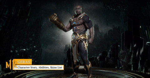 Geras Character Story, Abilities, & Skins List