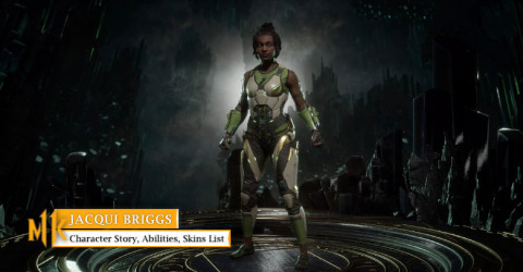 Jacqui Briggs Character Story, Abilities, & Skins List