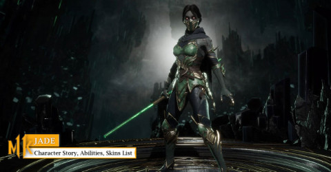 Mortal Kombat 11 Jade Character Story Abilities Skins List