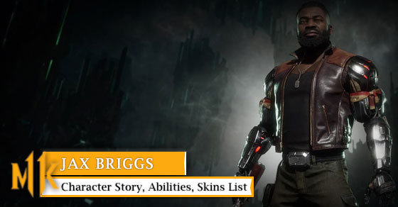 Get to know Jax Briggs with her story, abilities, & skins