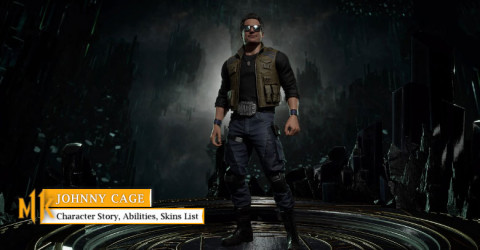 Johnny Cage Character Story, Abilities, & Skins List