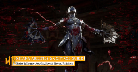 Kitana Character Abilities & Control Guide