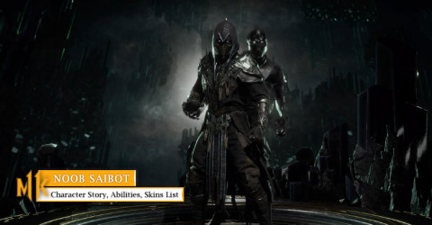 Noob Saibot Character Story, Abilities, & Skins List