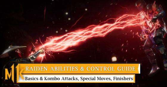 Get to know all of Raiden Control from basic to special move.