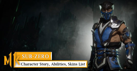 Get to Know Sub Zero with his story, abilities, & skins