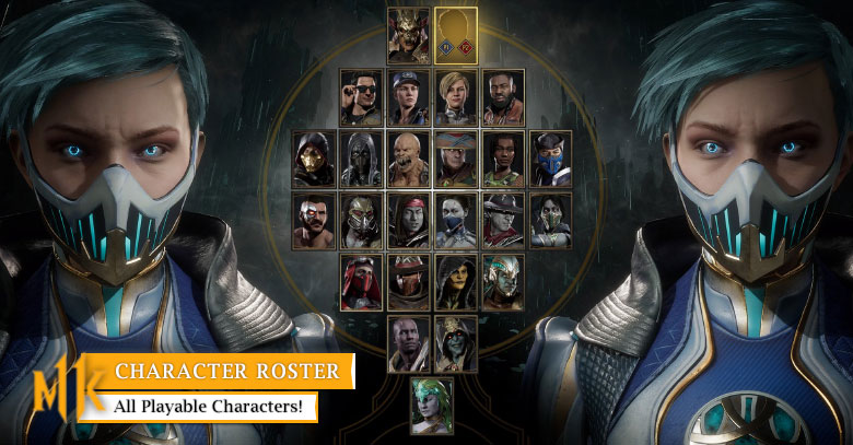 Find all 25 playable characters in Mortal Kombat 11 here - zilliongamer
