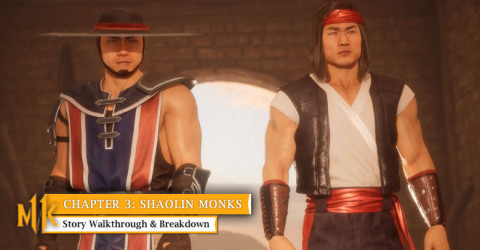 Chapter 3: Shaolin Monks