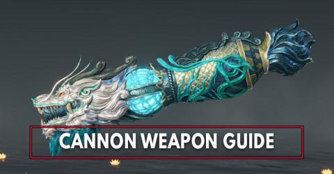 Naraka Bladepoint: Cannon Stats, SoulJades, & Skins List