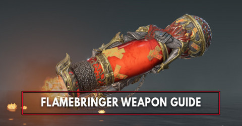 Naraka Bladepoint: Flamebringer Stats, & Skins List