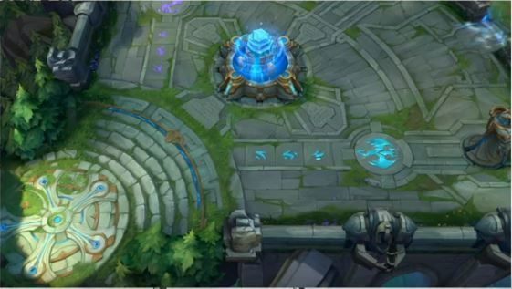 How Map will be looking like in League of Legends Wild Rift.