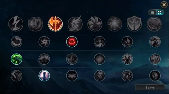How Runes will be looking like in League of Legends Wild Rift.