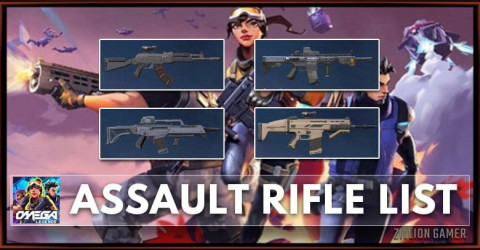 Omega Legends Assault Rifle Weapon List