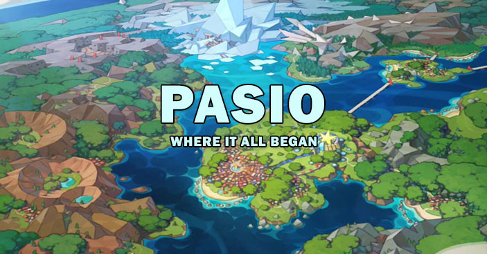 Pasio an artificial map for Pokemon Masters.
