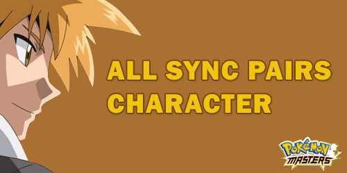 Sync Pairs Character & Pokemon in Pokemon Masters