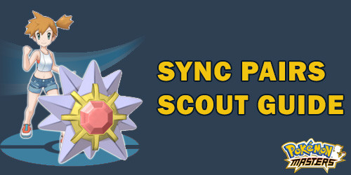 Sync Pair Scout in Pokemon Masters.
