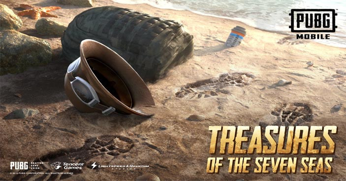 Treasures of the seven seas in PUBG MOBILE