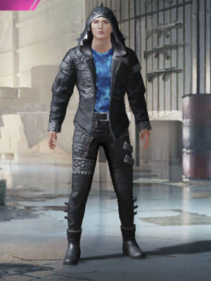 Front view of Godzilla skin in PUBG MOBILE.