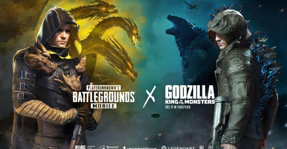 Preview Godzilla and Ghidora skins here.