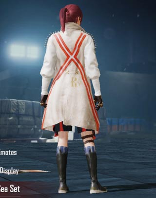 Lord Of The Sea Female Back | PUBG MOBILE - zilliongamer
