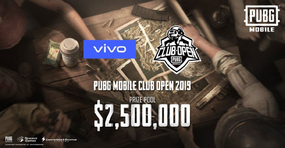 PUBG Mobile Tournament Club Open 2019 Prize Pool
