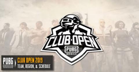 PUBG Mobile Tournament Club Open 2019 Teams, Region, & Schedule