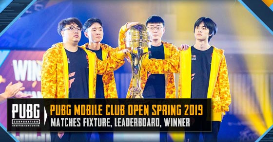 Browse through all matches, leaderboards, and teams in PMCO Spring 2019.