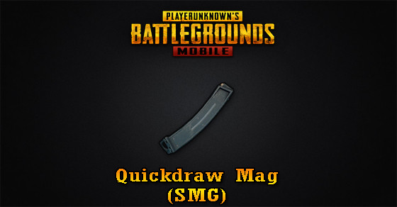 Quickdraw Mag (SMG) | PUBG MOBILE - zilliongamer