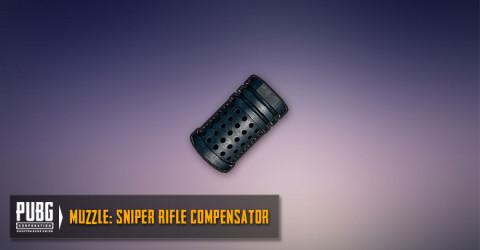 Sniper Rifles Compensator